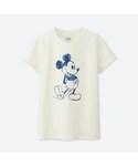 ユニクロ | 「ミッキーブルー」グラフィックT(半袖)(Tシャツ・カットソー)
