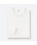 ユニクロ | エクストラファインコットンブロードスタンドカラーシャツ(長袖)(シャツ・ブラウス)