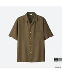 ユニクロ | オープンカラーシャツ(半袖)(シャツ・ブラウス)
