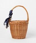 actuel | 【casselini】バンダナスカーフバスケット(ショルダーバッグ)