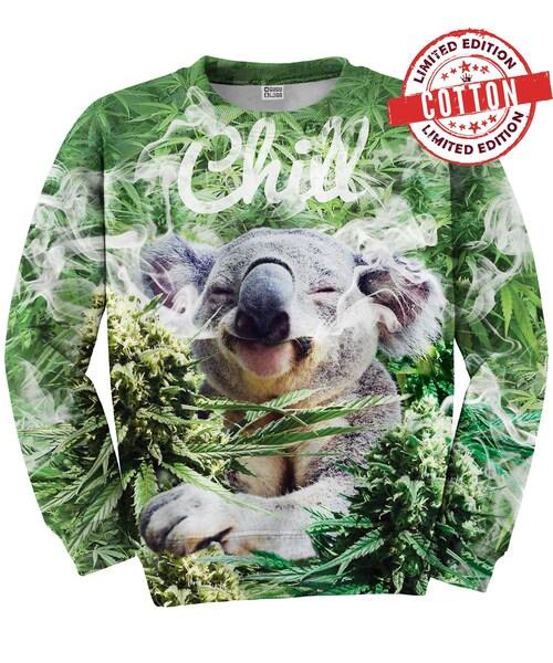 615b8d734ce845 Mr.GUGU&MissGO,Koala Chill sweater - WEAR