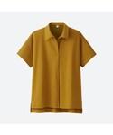 UNIQLO | オーバーサイズスキッパーポロシャツ(半袖)(ポロシャツ)