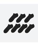 ユニクロ(ユニクロ)の「ショートソックス(7足組・25~27・27~29cm)(ソックス/靴下)」