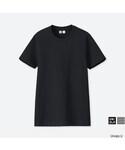 ユニクロ(ユニクロ)の「クルーネックT(半袖)(Tシャツ・カットソー)」