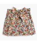 J.CREW「Tie-waist short in Liberty® Thorpe floral(Pants)」