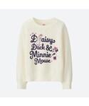 ユニクロ「GIRLS ディズニースウェットシャツ(長袖)(Other tops)」