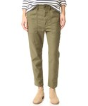 THE GREAT | THE GREAT. The Slouch Army Pants(Pants)