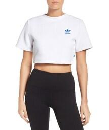 adidas「Women's Adidas Originals Crop Tee(T Shirts)」