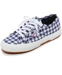 Superga | Superga 2750 Gingham Classic Sneakers(Sneakers)