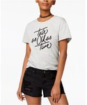 MinkPink(ミンクピンク)の「MINKPINK Cotton Tale As Old As Time Graphic T-Shirt(Tシャツ・カットソー)」