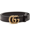 Gucci | GUCCI GG-logo 2cm leather belt(Belt)