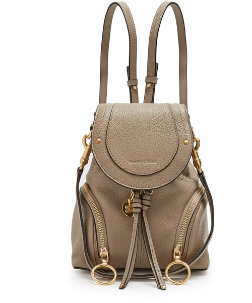 cheap for discount 244e3 107a7 See by Chloe(シーバイクロエ)の「SEE BY CHLOÉ Olga grained ...