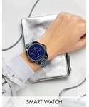 Michael Kors「Michael Kors MKT5006 Navy Tone Smart Watch(Watch)」