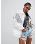Asos「ASOS Rain Jacket With Mesh Panels(Other outerwear)」