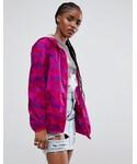 Asos「ASOS Rain Jacket in Pink Camo(Other outerwear)」