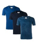 Maison Margiela   Maison Margiela - タイダイ柄 Tシャツ 3枚セット - men - コットン - L(Tシャツ・カットソー)