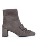 Stuart Weitzman「Stuart Weitzman - Ringtone アンクルブーツ - women - セーム革/レザー/rubber - 40(Boots)」