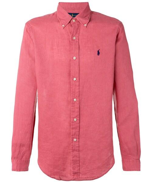 Ralph Marron Shirt S T Lauren Polo UqSzVpMG
