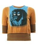 Undercover(アンダーカバー)の「Undercover - クロップドセーター - women - シルク/コットン - 2(ニット・セーター)」