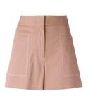 M Missoni「M Missoni - パッチポケット ショートパンツ - women - コットン/ポリエステル/スパンデックス/アセテート - 40(Pants)」