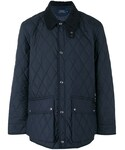 Ralph Lauren「Ralph Lauren - キルティングジャケット - men - カーフレザー/ナイロン/ポリエステル - M(Down Jacket/Coat)」