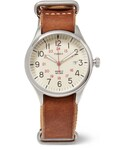 Timex「Timex Waterbury United Stainless Steel and Leather Watch(Watch)」