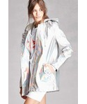 Forever 21「FOREVER 21+ Pixie & Diamond Hooded Jacket(Riders jacket)」