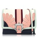 Paula Cademartori | Paula Cademartori Alice Multicolor Leather Shoulder Bag(Clutch)