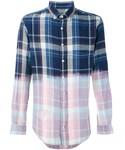 Blk Dnm「Blk Dnm - チェック柄シャツ - men - コットン - S(Shirts)」