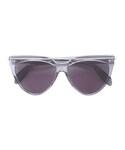 """Alexander McQueen Sunglasses """"Alexander McQueen - Teardrop アビエーター サングラス - women - アセテート/metal - 58"""""""