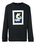 Raf Simons「Raf Simons - プリント スウェットシャツ - men - コットン - S(Sweatshirt)」