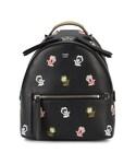 Fendi「Fendi - フローラル刺繍 バックパック S - women - レザー - ワンサイズ(Backpack)」