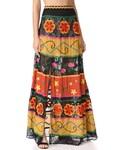 Alice + Olivia「alice + olivia Athena Embroidered Maxi Skirt(Skirt)」
