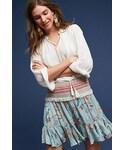 Anthropologie「Anthropologie Erie Ruffled Skirt(Skirt)」
