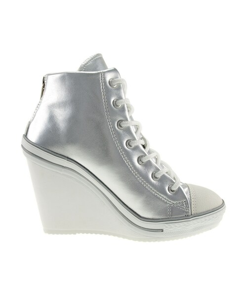 dd05e6bca6a Maxstarの「Maxstar Women s 777 Back Zipper PU High Wedge Heel Sneakers US  Women Size(その他)」 - WEAR