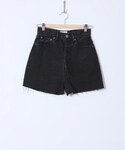holiday | HIGH WAIST DENIM SHORT PANTS()