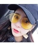 no brand「オシャレ伊達メガネ(Sunglasses)」