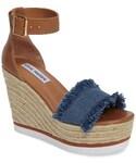 Steve Madden「Women's Steve Madden Valley Fringed Platform Wedge Sandal(Other Shoes)」