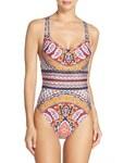 Nanette Lepore「Women's Nanette Lepore Woodstock Goddess One-Piece Swimsuit(Swimwear)」