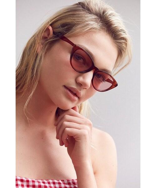 1823b9b1e Urban Outfitters,Urban Outfitters Slim Retro Cat-Eye Sunglasses - WEAR