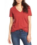 Madewell「Women's Madewell 'Whisper' Cotton V-Neck Pocket Tee(T Shirts)」