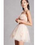 Forever 21「FOREVER 21+ Kikiriki Tulle Mini Skirt(Skirt)」