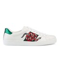 "Gucci Sneakers ""Gucci - Ace 刺繍スニーカー - men - レザー/rubber - 5.5"""