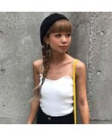 no brand(ノーブランド)の「«先行発売»ピタ♡リブキャミ(キャミソール)」