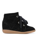 Isabel Marant「Isabel Marant - Bobby ウェッジスニーカー - women - レザー/Calf Suede/rubber - 35(Sneakers)」