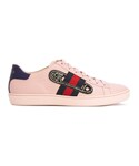 Gucci「Gucci - Ace スニーカー - women - カーフレザー/レザー/ナイロン/glass - 39.5(Sneakers)」