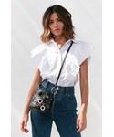 Urban Outfitters「Urban Outfitters Mackenzie Grommet Mini Bucket Bag(Shoulderbag)」