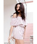 Forever 21「FOREVER 21+ Contemporary Stripe Romper(One piece dress)」