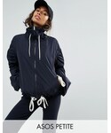 Asos「ASOS Petite ASOS PETITE Rain Anorak with Contrast Drawstring(Other outerwear)」