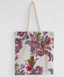 DHOLIC | ペイズリー刺繍スクエアトートバッグ(トートバッグ)